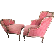 Antique Duchesse Brisee in the Louis XV style