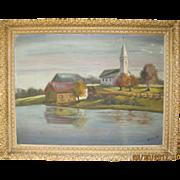 Oil Painting: Autumn Shadows