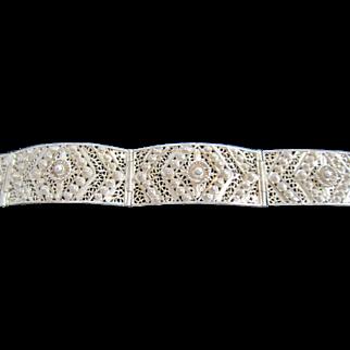 Silver/goldtone Bracelet