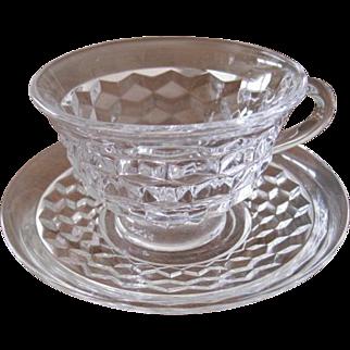 American Fostoria Coffee Cup
