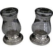 Hurricane Salt and Pepper shakers