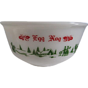 Vintage Egg Nog Bowl