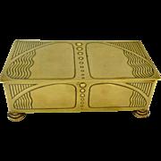 Secessionist Art Nouveau WMF Box