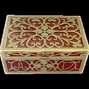 Austrian Secessionist Art Nouveau Jewellery Box