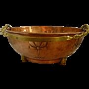 WMF Art Nouveau Copper Planter