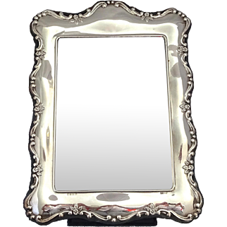 Carrs Sterling Silver Photo Frame; Sheffield 1996 (New Old Stock), large size