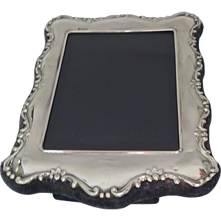 Carrs Sterling Silver Photo Frame; Sheffield 1996 (New Old Stock), small size