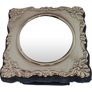 Carrs Sterling Silver Photo Frame; Sheffield 2000 (New Old Stock), small circular size (#2 of 2)