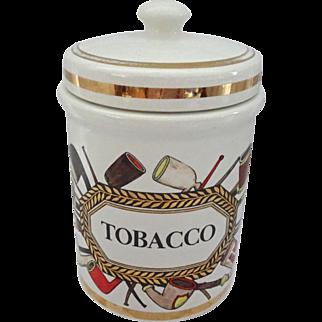 Piero Fornasetti, Milan: Tobacco Jar