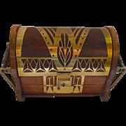 Erhard & Söhne Secessionist Art Nouveau Jewelry Box