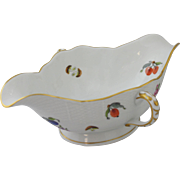 Herend Fruits and Flowers Double Gravy Boat BFRN