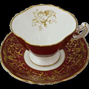 Hammersley Bone China English Cherub Tea Cup and Saucer Set