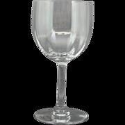 "Baccarat Montaigne Optic Claret Wine Glass 5 3/4"""