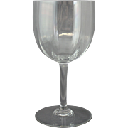Baccarat Montaigne Optic Tall Water Goblet 7""