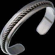 Native American Sterling Cuff Bangle Bracelet Bell Trading Company