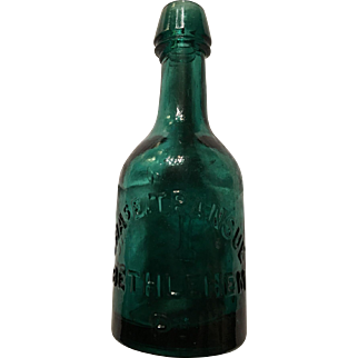 Bethlehem PA Soda Bottle