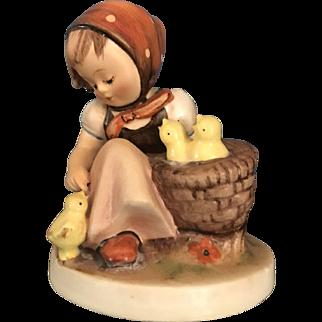 Hummel Figurine #57/0-Chick Girl