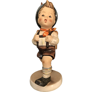 Hummel Figurine #82/0-School Boy