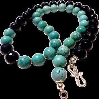 JFTS Turquoise & Lapis Lazuli 3 Piece Set