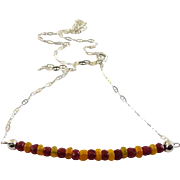 JFTS Ruby Ethiopian Opal Necklace
