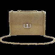 A Unique Handmade 18KT Yellow Gold And Diamond Ladies Evening Handbag Purse