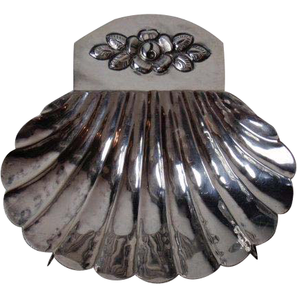 Hand Crafted Maciel Sterling Silver Footed Nut Candy Dish