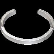 "Men's Solid Sterling 925 Silver Heavy Torque  Buy With Confidence ""London Assay Hallmark"""