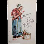 Brundage Valentine Postcard