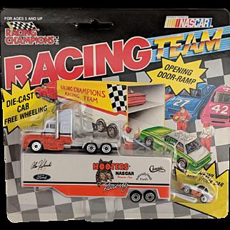 Racing Collectibles,  Alan Kulwicki Race Car Hauler and Car