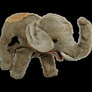 Vintage Child's Wind-Up Toy Elephant.