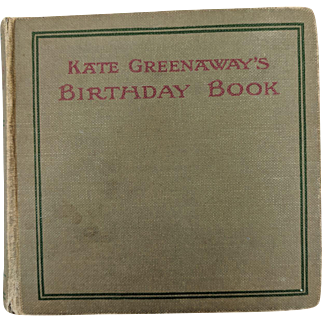 Kate Greenaway,Vintage Children's Book