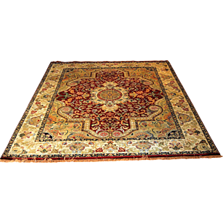Custom made Persian Vintage rug, excellent condition NO flaws