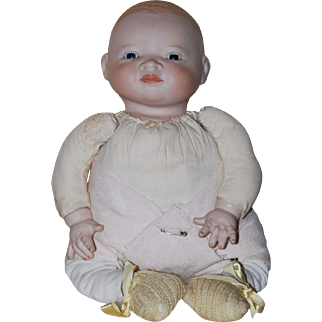 Diaper Baby, Cloth, Bisque