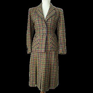Vintage 1930s Otterburn Wool Tweed Suit
