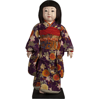 Japanese Ichimatsu Girl Signed Togyoku