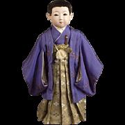 Japanese Mitsuore Boy by Maruhei