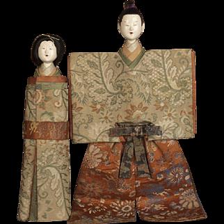 Japanese Edo Period Tachi-bina Pair