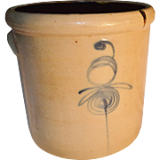 1890's Red Wing Bee Sting 3 Gallon Crock