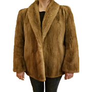 Vintage Mink Coat Sold By Parisian's