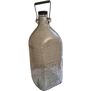 "Oso Negro (means ""Black Bear"") Vodka Bottle"