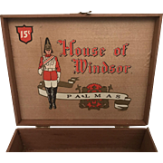 House of Windsor Palmas Wood Cigar Box