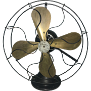 Antique Peerless Oscillating Fan