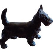 Cast iron Scottish Terrier Dog