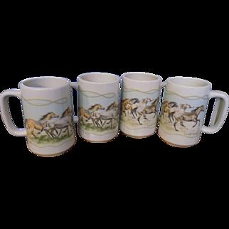 Otagiri set of coffee cups by Loraine Kress