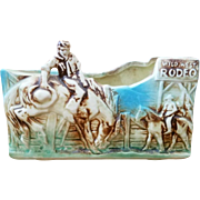 Vintage McCoy Rodeo Planter