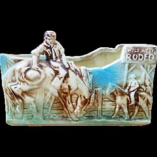 Vintage McCoy Rodeo Planter