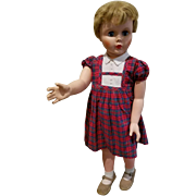 Vintage 34 inch Walking Doll