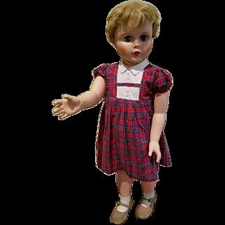 Vintage 34 inch Walking Doll