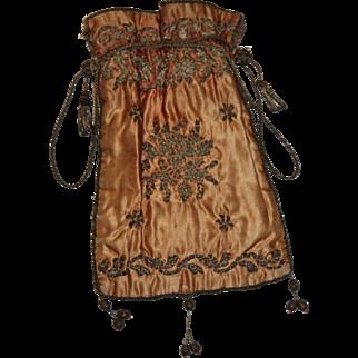 Antique Regency Ladies Reticule Bag