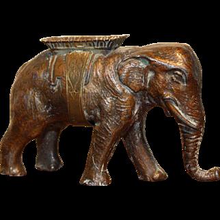 Rare W. Avery & Son Elephant Pin Holder